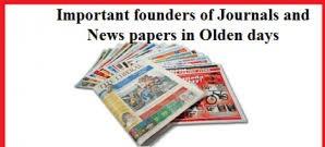 newspaper founder